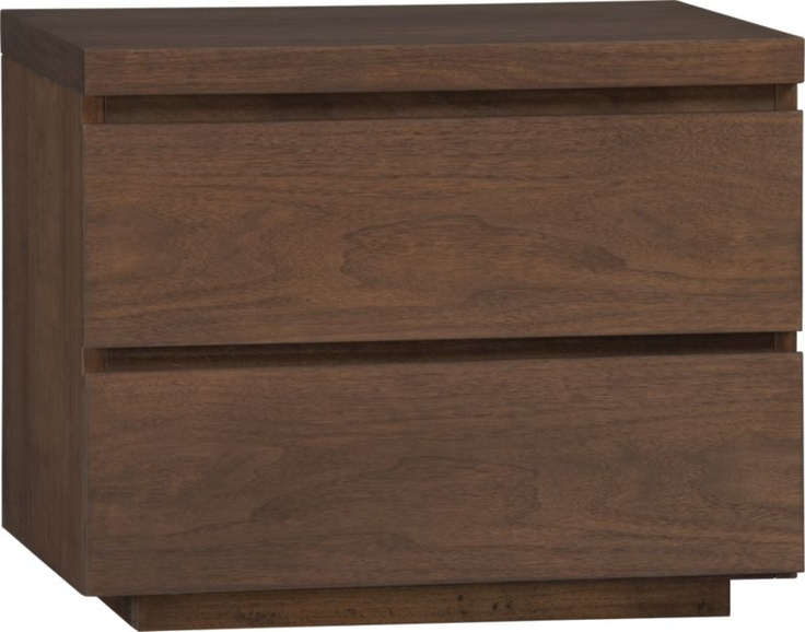 Ronan 2 Drawer Nightstand In Sale Furniture Crate And Barrel