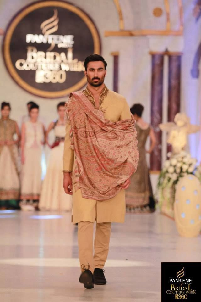 Ammar Shahid at Pantene Bridal Fashion Week 2013