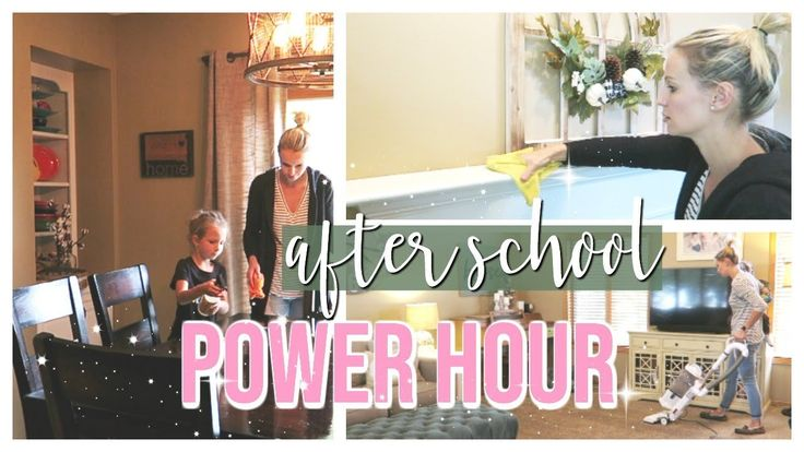 AFTER SCHOOL POWER HOUR | SPEED CLEAN WITH ME | CLEANING WITH KIDS!