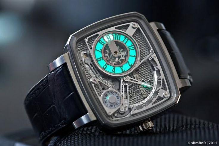 Weekly Watch Photo - Hautlence HL Ti 02 - Monochrome Watches - Monochrome Watches