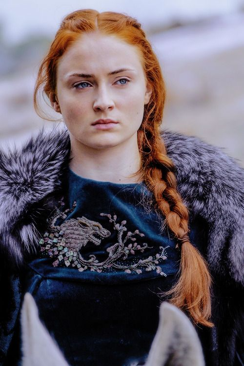 Sansa Stark in Battle of the Bastards �