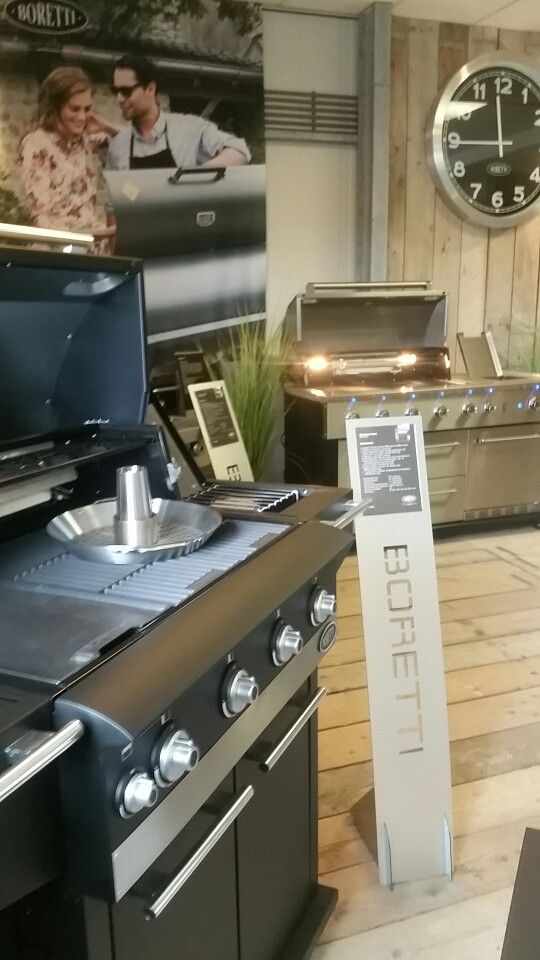 Boretti Fuori IBRIDO | buiten koken op gas & houtskool