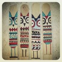 handmade bookends