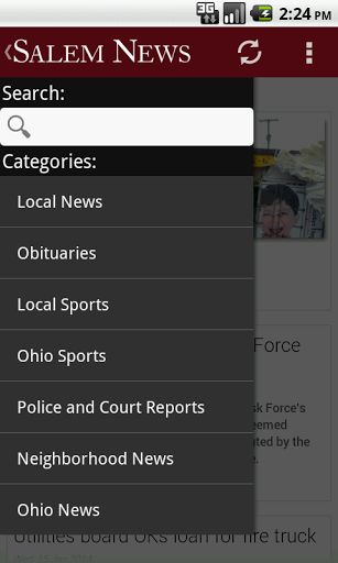Local News from The Salem News covering the latest news, sports, weather and features of North East Ohio, The Salem News serves Salem, Perry, and Green Townships as well as Northern Columbiana, Western Stark, and Southern Mahoning county- Breaking News Alerts  - Local News  - Local Sports  - Polls  - Full Article Search  - Local Garage Sales and Directions  http://Mobogenie.com