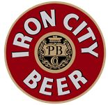 Iron City Beer logo of Pittsburgh Brewing Company