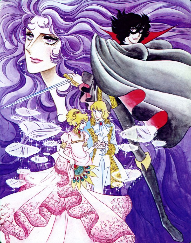 "Artwork from ""La Rose de Versaille"" by Ms.Riyoko Ikeda."