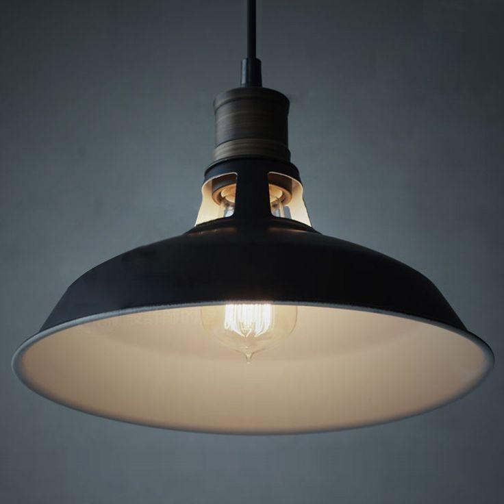 CLAXY® Ecopower Industrial Barn Mini Metal Pendant Light 1 Light - - Amazon.com