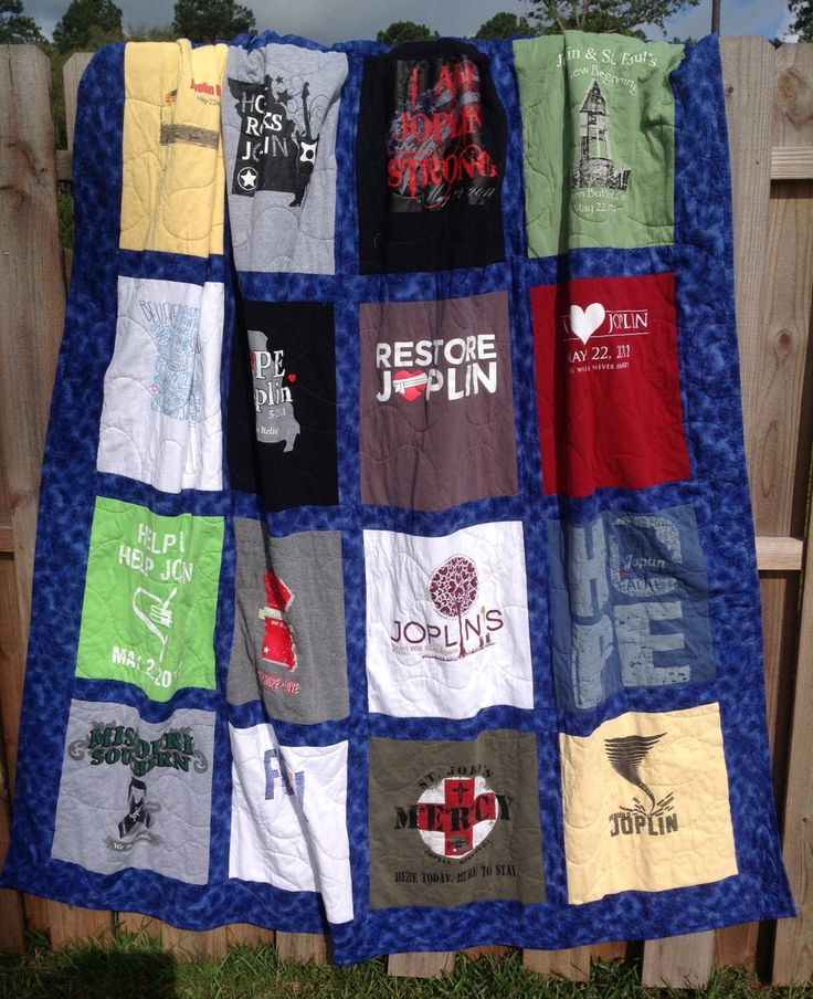 Custom T Shirt Quilt by justsaysewing on Etsy https://www.etsy.com/listing/152740107/custom-t-shirt-quilt