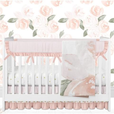 Nursery Bedding For Girls | Bedding For Cribs | Unique Crib Bedding - Modified Tot
