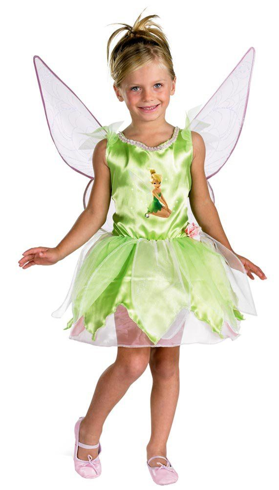 Disney Kids Classic Tinkerbell Toddler Costume Peter Pan Costumes - Mr ...