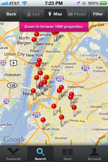 Mobile UI Patterns | Maps
