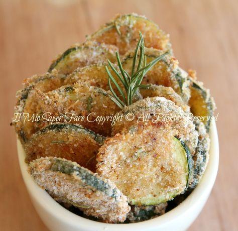 Chips di zucchine croccanti al forno   Zucchine sabbiose blog il mio saper fare