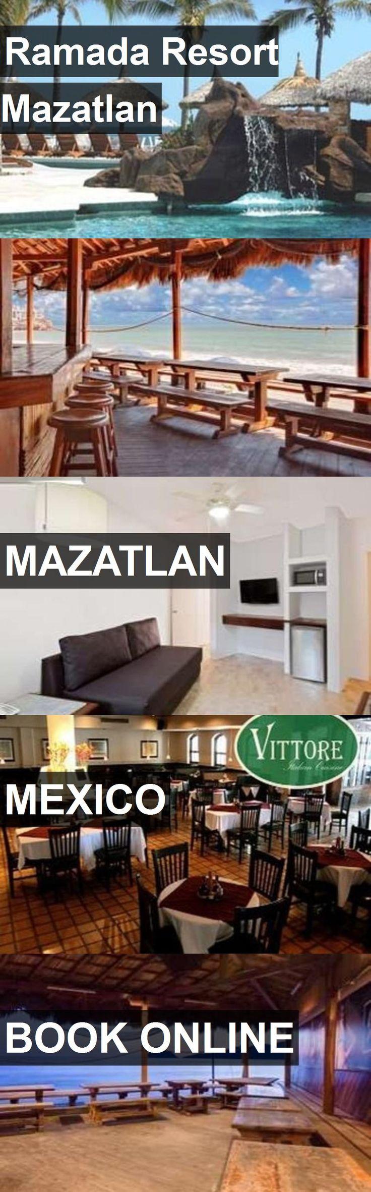 Hotel Ramada Resort Mazatlan in Mazatlan, Mexico. For more information, photos, reviews and best prices please follow the link. #Mexico #Mazatlan #travel #vacation #hotel