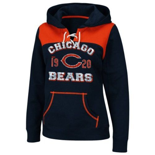 Amazon.com : Chicago Bears Preseason Favorite III Ladies : Sports Fan Sweatshirts : Sports & Outdoors