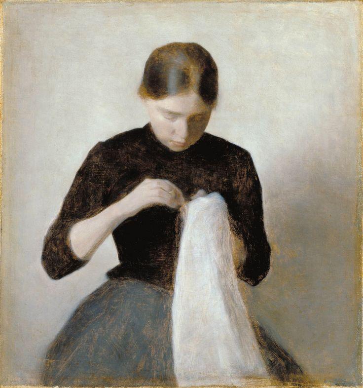 ALONGTIMEALONE: uconstruction:   Vilhelm Hammershøi (1864-1916...