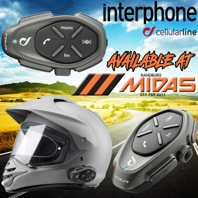 @InterphoneEng Tour are raising the #benchmark for in #helmet #communication MORE HERE! #Navigation #GPS #MotorBike