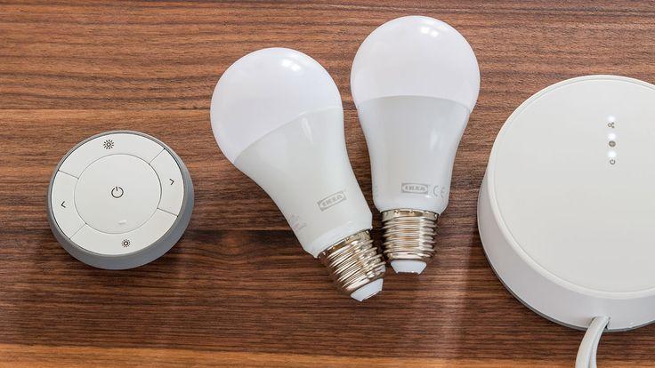 Trådfri: Das smarte Lichtsystem von Ikea im Test.