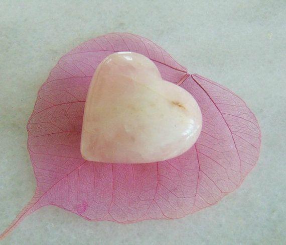 Rose quartz heart crystal heart heart stone quartz quartz