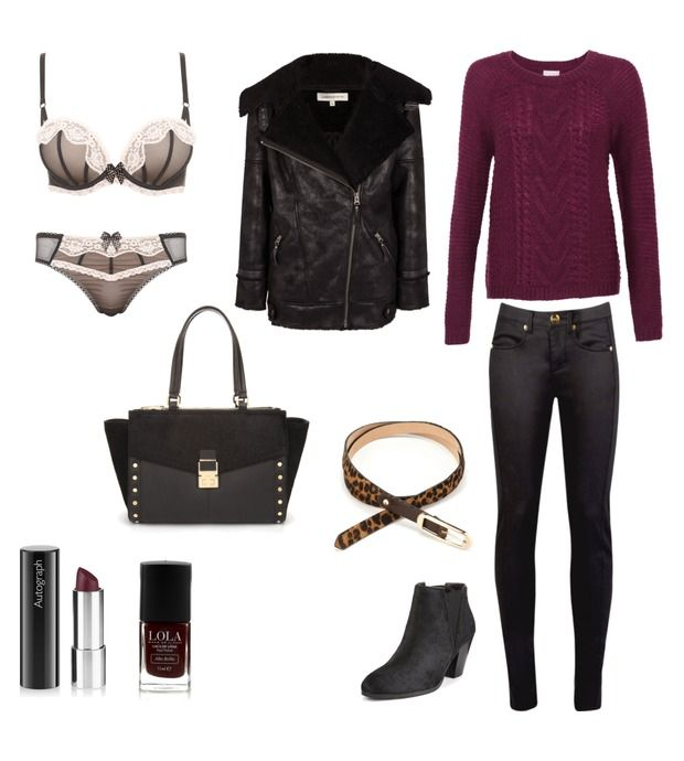I just entered an outfit into the Bonfire Night Style Challenge Contest on M&S Style Board. The outfit with the most loves will win, please help!
