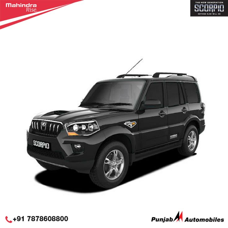 A range of advanced features that are designed specifically for comfort, safety and style – Mahindra #Scorpio. Call on: +91-7878608800.