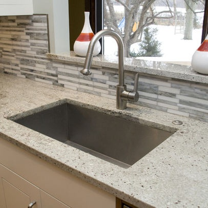 Bianco Romano Granite Design, Pictures, Remodel, Decor And Ideas   Page 2. Countertop  BacksplashBacksplash IdeasKitchen CountertopsQuartz ...