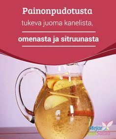 Painonpudotusta tukeva juoma kanelista, omenasta ja sitruunasta Kanelivesi on erinomainen valinta, jos haluat päästä eroon ylimääräisestä rasvasta kehossasi. Yhdistä tämä juoma tarveelliseen ruokavaliooon ja liikuntaan, jotta saisit siitä parhaat tulokset.