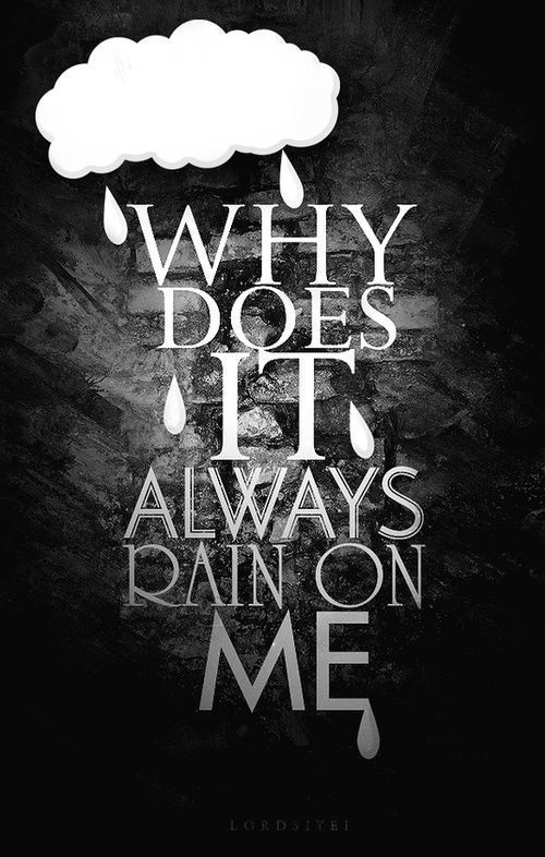 rain, rain go away.