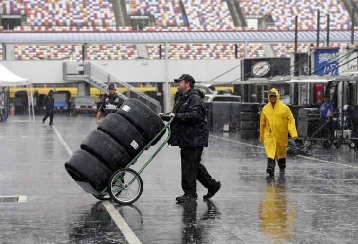 NASCAR Sprint Cup race postponed until Sunday because of Hurricane Matthew  -  October 8, 2016
