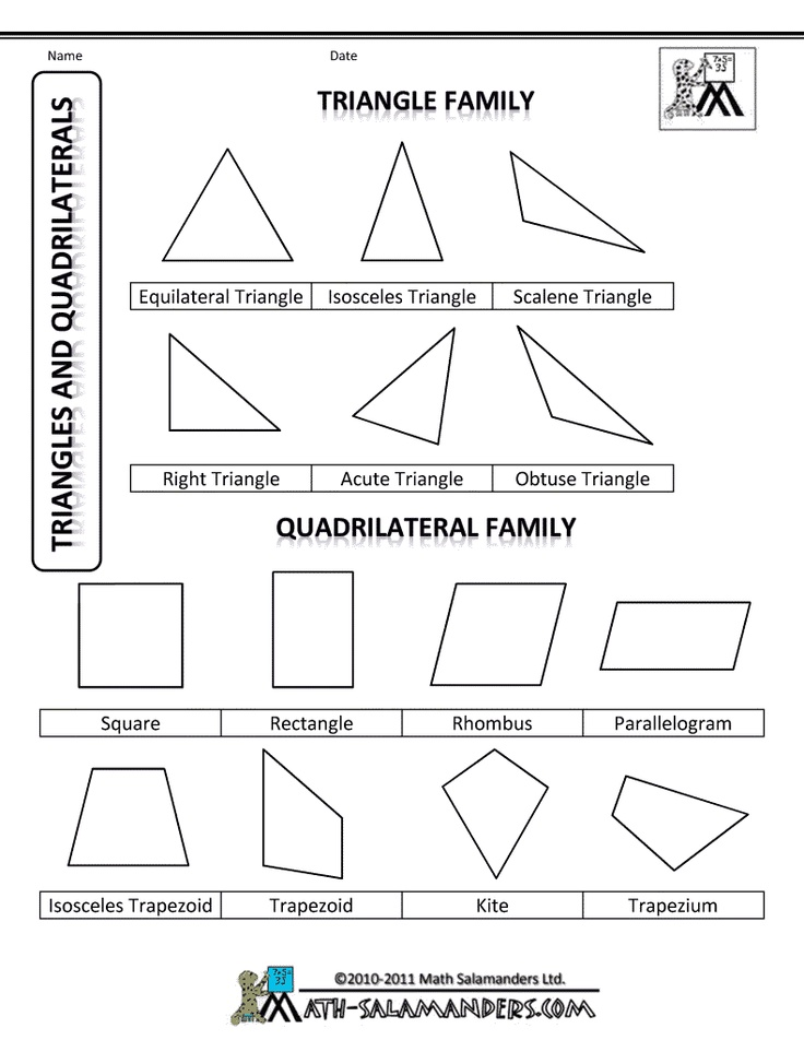 17 best images about math quadrilaterals triangles on pinterest geometry interactive. Black Bedroom Furniture Sets. Home Design Ideas