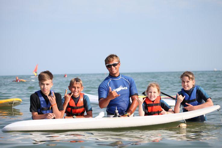 Mit Freunden, Surf und Windsurf by Camping Garden Paradiso