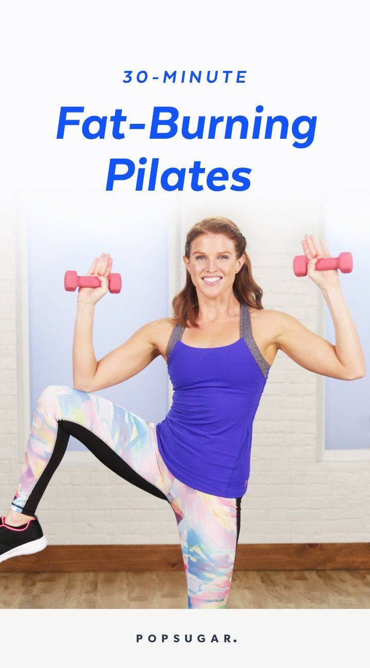 30-Minute Fat-Burning Pilates Workout