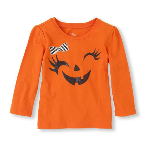 A cute tee to get her into the Halloween spirit!