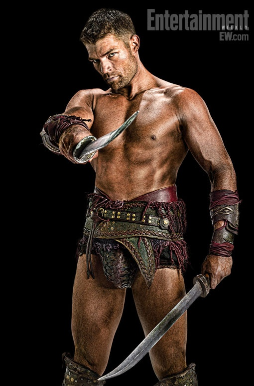 The new Spartacus...Liam McIntyre