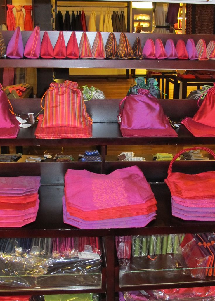 Margaret River Silk farm and shop. Silk and mulberry products on sale