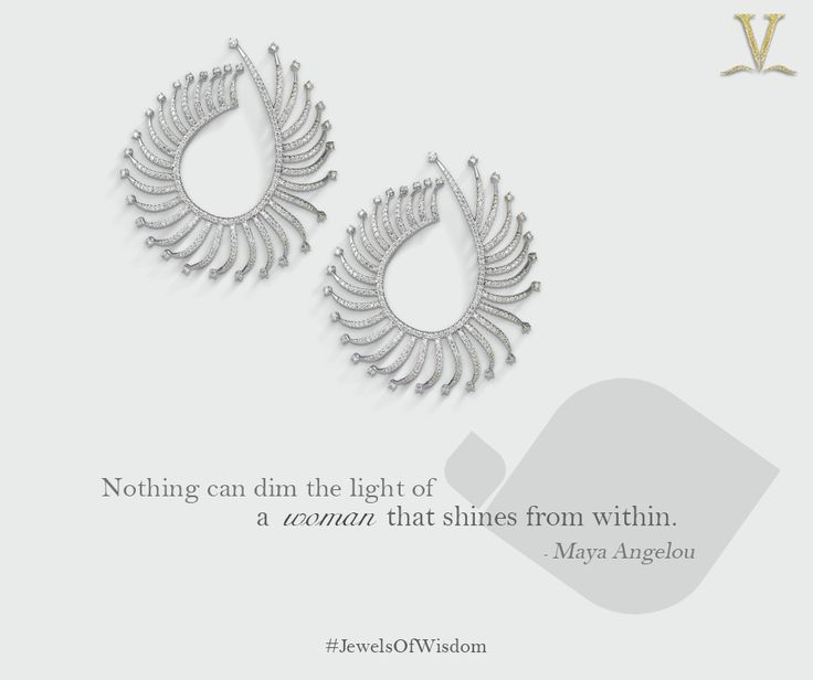 A charismatic interlace of diamonds for the eternally efficacious you. #JewelsOfWisdom.