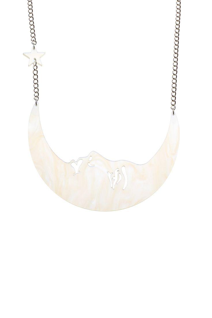 La Luna Moon Necklace, £65: http://www.tattydevine.com/la-luna-moon-necklace.html