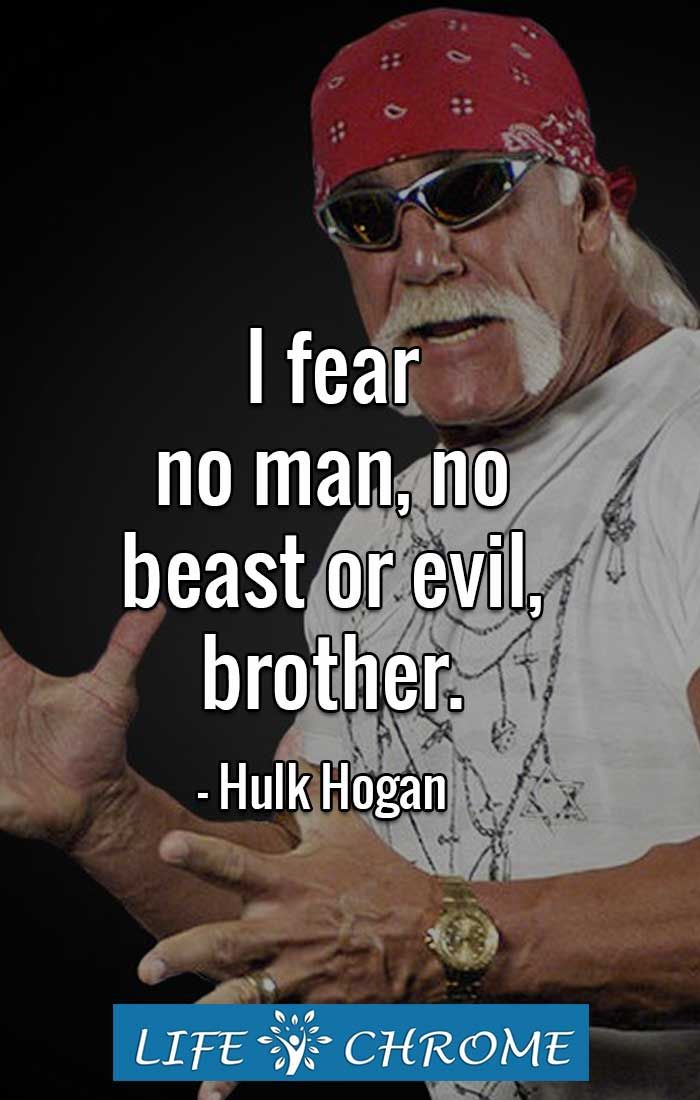 Hulk Hogan Quotes With Images Hulk Hogan Quotes Quotes By