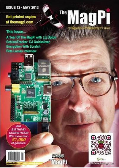 The MagPi is a free magazine made by Raspberry Pi fans for Raspberry Pi fans.   Check out http://arduinohq.com  for cool new arduino stuff!