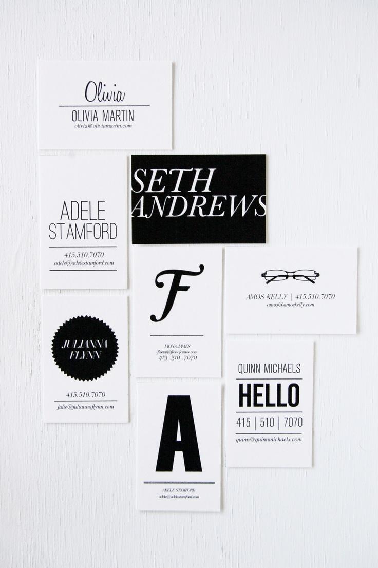 452 best Business Card Design images on Pinterest | Business card ...