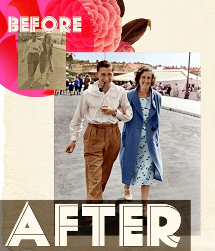 Photo restoration breathes life into your old photos. It's permanent proof that trends may end but style doesn't.