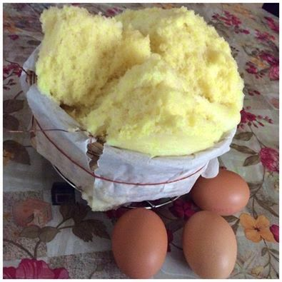 Baking's Corner: TRADITIONAL STEAMED EGG KUEH NENG KOR - by By cath...