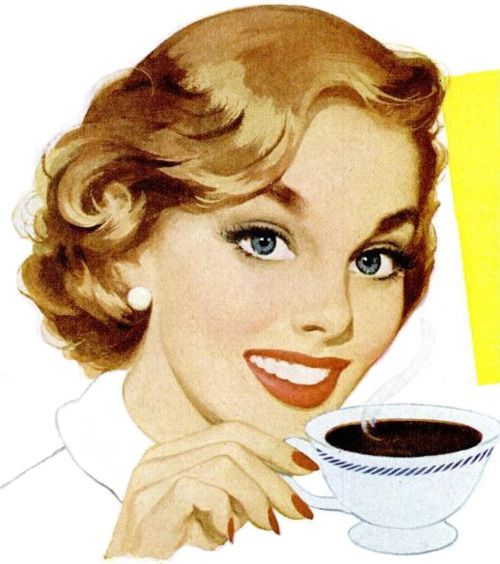 yes...coffee actually does make you more attractive.  aren't you glad!