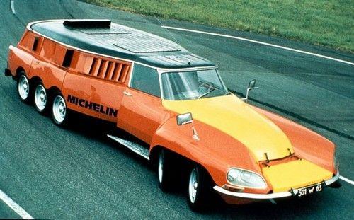 """1972 Citroën DS """"Mille-Pattes (Centipede)"""" Michelin"""