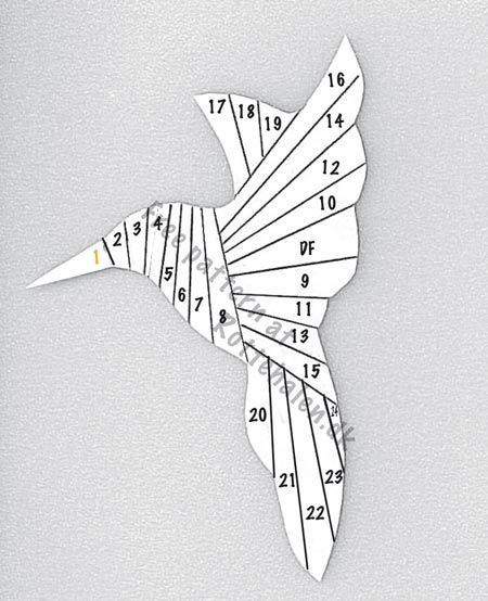 369 best Iris Folding Patterns images on Pinterest Iris