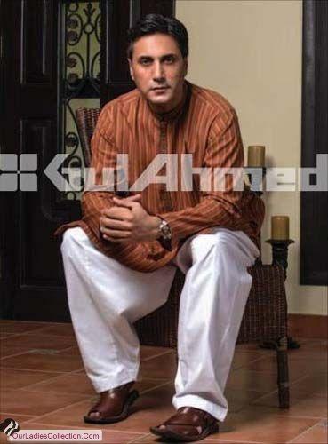Gul Ahmed Men's Kurta Shalwar Fall Eid Collection 2012 ~ Latest Pakistani Fashion,Bollywood Fashion,Hollywood Fashion,Ladies Fashion,Men Fashion.