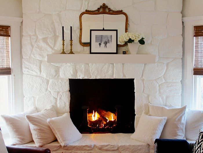 Best 10+ Painted stone fireplace ideas on Pinterest | Painted rock ...