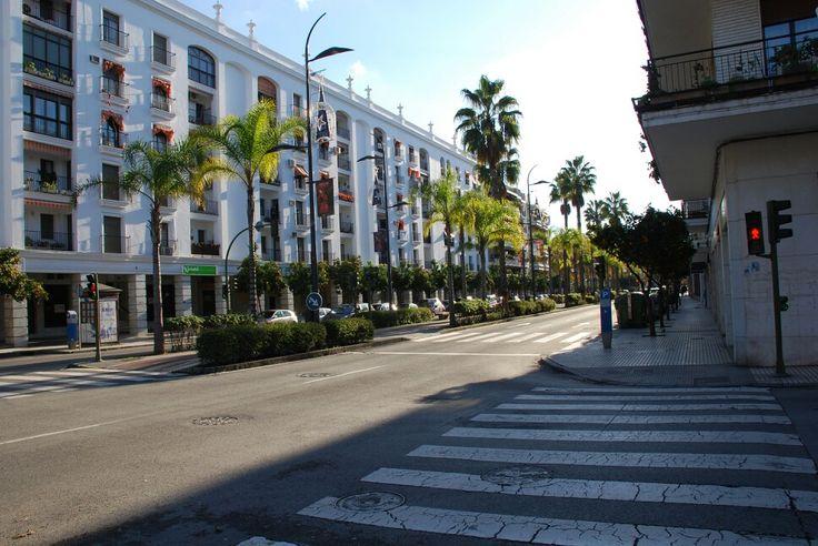 Jerez.Avenida Alvaro Domecq
