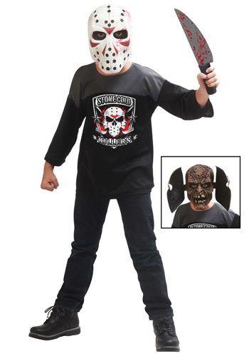 Kids Hockey Masked Man   Maniac ! Happy Friday the 13th.