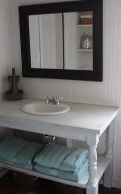 The Shabby Creek Cottage - a decorating blog: My own little spa