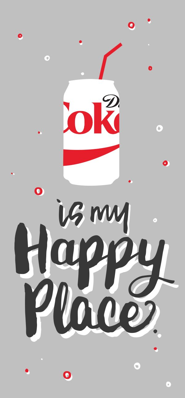 At home, work, while picking up the kids from school, or checking the last thing off my holiday shopping list -- it doesn't matter where I am, as long as I've got my Diet Coke.